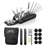 Fahrrad-Multitool, Migimi 16 in 1 Werkzeuge für Fahrrad Reparatur Set Multifunktionswerkzeug...