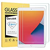 Gerutek [2 Stück Schutzfolie für iPad 10.2 2019 (iPad 7. Generation), 9H Härte, 2.5D, Hülle...