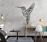 JXMN 45x49cm anpassbare Farbgröße DIY geometrische Vogel Selbstklebende Vinyl wasserdichte...