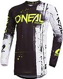 O'NEAL Oneal ELEMENT JERSEY Fahrrad- und Motocross-Ausrüstung S, Schwarz