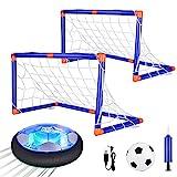 Anpro Air Power Fußball Set, Fussball Kinderspielzeug mit LED Beleuchtung in Innenräumen und...