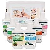 Probierset Massagelotion, Massage Lotion, Physiotherapie, 6 Flaschen à 50 ml