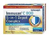 tetesept Immusan C 800 5-in-1 Depot Complex – Depot-Tabletten zur Unterstützung des Immunsystems...