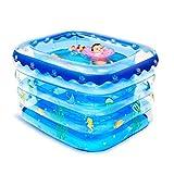 JCCOZ -URG Air Swimming Pool Kiddie Pools, geeignet für Outdoor, Garten, Hinterhof, tragbar, 140 x...
