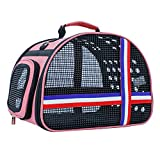 WFIZNB Hund Tasche Atmungsaktive Mesh Handtasche Schulter Tragbare Katze Durchführung Einfach zu...