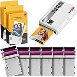 Kodak P210 Mini 2 Retro, Mobiler Fotodrucker, Kompatibel mit Smartphone (iOS & Android), Bluetooth,...