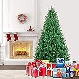 SHareconn Künstlicher Weihnachtsbaum Premium Spruce mit Stabilem Ständer, Tannenbaum inkl. Metall...