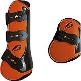 NORTON Competition Gamaschen und Streichkappen Set Größe Pony, Farbe orange