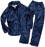 Mil-Tec Herren Regenanzug, blau (Dunkel Blau), 3XL