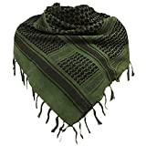 StyleBest 100% Baumwolle Shemagh Military Scarf Sandproof Protective Scarf Warmer, kältefester...