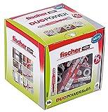 fischer DUOPOWER 8 x 65, Universaldübel, leistungsstarker 2-Komponenten-Dübel, Kunststoffdübel...