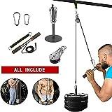 FOOING Unterarm Handgelenk Trainer Armmuskulatur Training Seil Seilzug System Arm Bizeps Trizeps...
