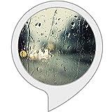 Regen an einem fenster für Echo Show, Echo Spot