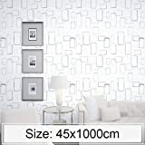 lixiang668 Kreative 3D Stone Brick Dekoration Tapete Aufkleber Schlafzimmer Wohnzimmer-Wand...