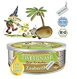 ZWERGNASE Zauberöl Anti-Zecke für Hunde & Katzen | 1x140ml | Kokosöl mit Bio-Kräutern | schützt...