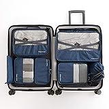 Taschen 1Koffer Organizer Set, 7 unterschiedliche Größen, kleidertaschen für Kleidung Kosmetik...