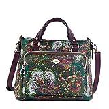 Oilily Damen Picnic Handbag Shz Henkeltasche, Grn (green), 13x22.5x27 cm