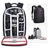 Beschoi DSLR Kamera-Rucksack, wasserdichte Kameratasche für Sony Canon Nikon Olympus SLR/DSLR...