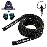 Battle Rope 2.8M Springseil Heavy Skipping Rope Trainingsseil Fitnessseil Sportseil Krafttraining...