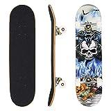 WeSkate Longboard Fishtail 40 Zoll Lange Cruiser Skateboard Komplett (101cm) für Erwachsene...