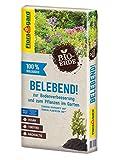 Floragard Bio-Erde Belebend 1x60 Liter - zum Pflanzen im Garten und zur Bodenverbesserung - torffrei...