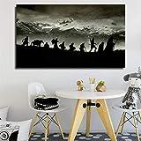 Stipendium auf leinwand Schlafzimmer Dekoration Moderne wandkunst Poster Salon Bild rahmenlose...