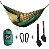 Monkey Swing Hngematte inkl. Aufhngeset I 275 x 140 cm I Outdoor, Travel, Trekking & Camping,...