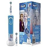 Oral-B Kids Frozen Elektrische Zahnbürste für Kinder ab 3 Jahren, kleiner Bürstenkopf & weiche...