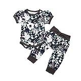 Neugeborenes Kleidung Set 2 Stücke, Yaohxu Baby Mädchen Outfit Daddy's Kleine Prinzessin Set...