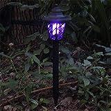 Solar Garden Moskito-Lampen Solar Electric Pest Control Lampe Solar Mosquito Killer Lights Led...