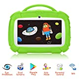 Kindertablet 7 Zoll Android 9.0 Qiamoo Tablet Kinder 1GB + 16 GB Kids Tablet Quad Core CPU 1.5 GHz...