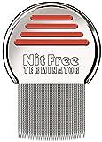Das Original seit 1998 NitFree Terminator Läusekamm bzw Nissenkamm entfernt sicher Läuse, Eier und...