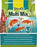 Tetra Pond Multi Mix – Fischfutter für Teichfische mit vier verschiedenen Futtersorten...
