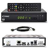 Comag HD25 HD Sat Receiver mit USB Aufnahmefunktion PVR + Mediaplayer mit HDMI Kabel, Astra...