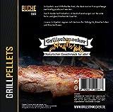Grillschmecker Grillpellets - Holzpellets aus 100% Reiner Buche für Grill, Pelletofen & Smoker -...