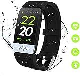 obqo Smartwatch,Fitness Armband Pulsuhren Wasserdicht IP67 Schrittzhler Uhr Stoppuhr Sport GPS...
