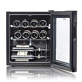 Smad Weinkühlschrank 46 Liter, 12 Flaschen Weinkühler, Temperatur: 5-18 °C, Getränkekühlschrank...