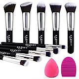 BEAKEY Pinselset Makeup, Professionelles Foundation Make up Pinsel Set Premium Synthetic Lidschatten...