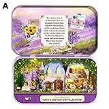 Letway DIY Puppenhaus Kit Assembled Toys Theater Box Miniaturhaus Mit Mbeln Fr Kinder Weihnachten...