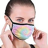XUXI Tie-Dye Leichte Maske schützt vor Rauch und Kälte und eignet sich zum Laufen, Angeln,...