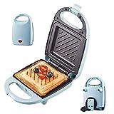4-in-1-Snackmaschine mit Waffel Sandwich Toaster/Toastie Maker Frühstücksmaschine Doppelseitige...