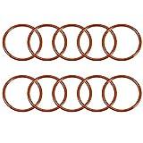 Sourcingmap Silikon-O-Ring, 55 mm Außendurchmesser, 48 mm Innendurchmesser, 3,5 mm Breite, VMQ...