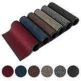 Kettelservice-Metzker® Schmutzfangmatte | Sauberlaufmatte | versch.Farben & Größen | grau-schwarz...