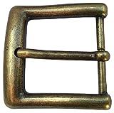 Brazil Lederwaren Gürtelschnalle 4,0 cm | Buckle Wechselschließe Gürtelschließe 40mm Massiv |...