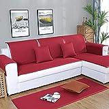 Hybad Couch-abdeckungen,Schonbezug,Schonbezge Mbelschutzfolie,Sommer Leder Sofakissen,Waschbare...