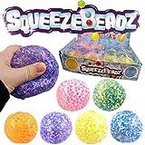 Henbrandt the Harlequin Brand Quetschball Squeezeball XL 7cm Bunt Perlen Antistressball Knautschball...