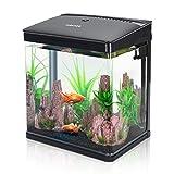 Nobleza-Nano-Fischtank-AquariummitLED-Leuchten&Filtersystem,tropischeAquarien,...