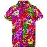 Strungten Sommer Herren Lustig 3D Gedruckt Hawaiian Shirt Lssige Kurzarm-T-Shirts Outfits Urlaub...