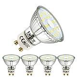 EACLL GU10 LED 5W 6000K Kaltweiss Leuchtmittel 495 Lumen Birnen kann Ersetzen 50W Halogen. AC 230V...
