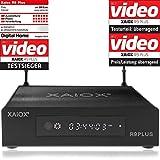 Xaiox R9 Plus - 4k Android Mediaplayer mit Display und Festplatten Schacht (HDMI, MKV, USB, LAN,...